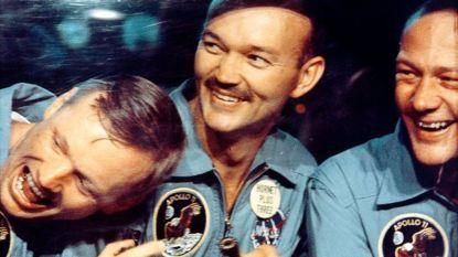 """Ruimtetrainer van Neil Armstrong is er zeker van: """"We gaan een basis bouwen op de maan en daar wonen"""""""
