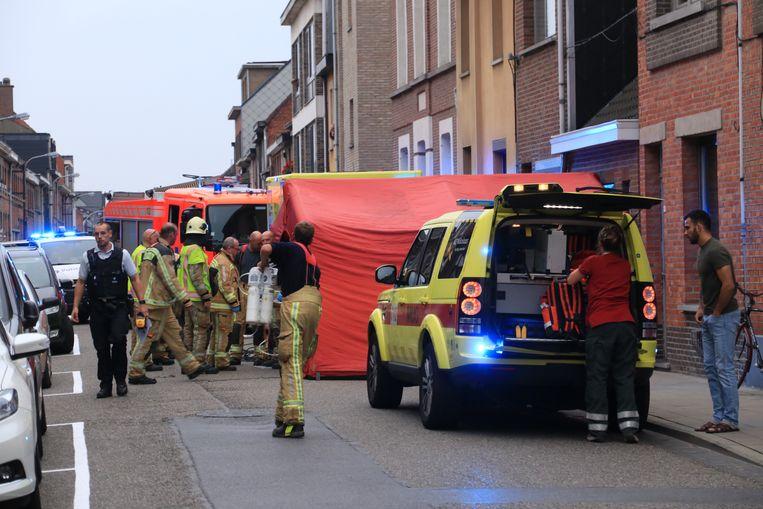 het ongeval gebeurde maandagavond in de Eeckhoutdriesstraat in Temse