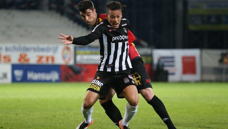 Benavente tijdens de match tegen KV Mechelen