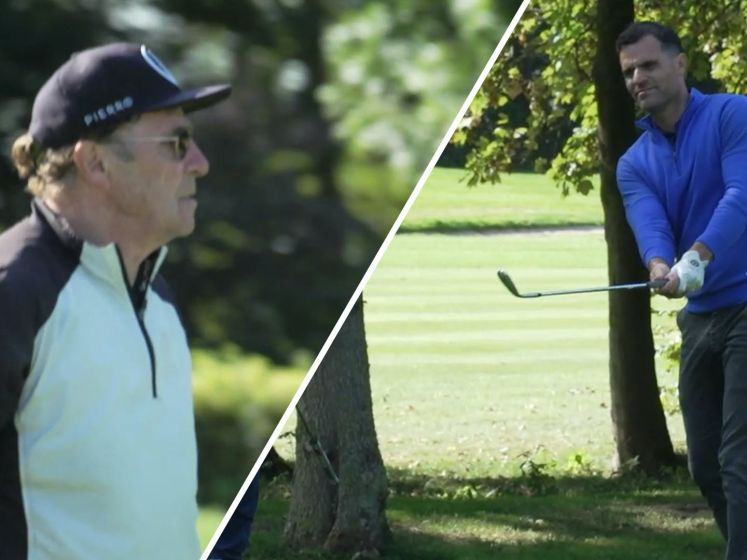 Feyenoord en Ajax strijden om overwinning op golfbaan