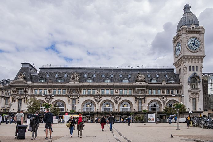 Treinstation Gare du Lyon in Parijs.