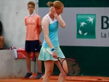 Ça démarre mal pour les Belges: Alison Van Uytvanck déjà dehors