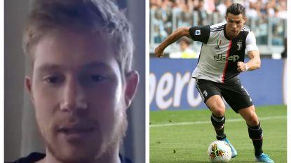 """Kevin De Bruyne ziet in Cristiano Ronaldo ideale ploegmakker: """"Met hem erbij zou ik nóg meer assists hebben"""""""