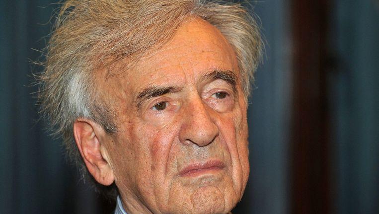 Elie Wiesel overleed vandaag op 87-jarige leeftijd. Beeld epa