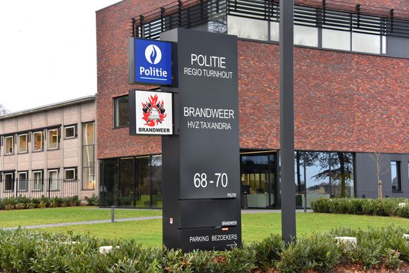 Het politiekantoor in Turnhout