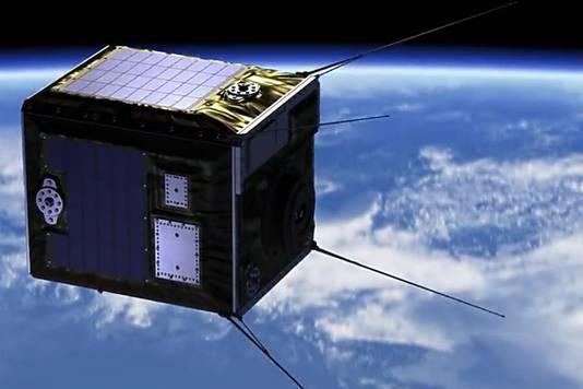 De eerste satelliet draait op 500 kilometer hoogte zijn rondjes. Later komen er nog zes bij.