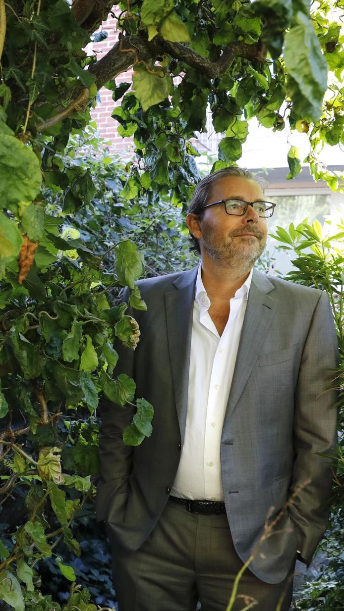 Hoogleraar Maarten Postma.