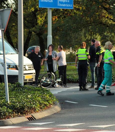 Vrouw aangereden door bestelbus in Oldenzaal