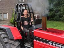 Tractorpuller Reiner Sundermeijer eert zijn overleden vader met Proud Eagle