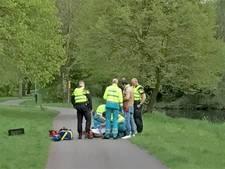 Fietsende vrouw maakt harde smak op fietspad in Nieuwegein