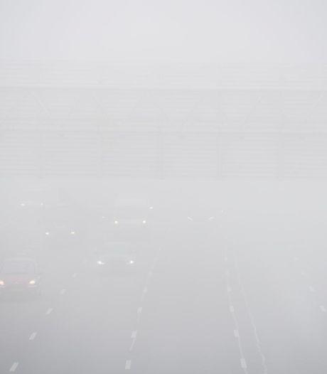 Code geel in Amsterdam vanwege mist