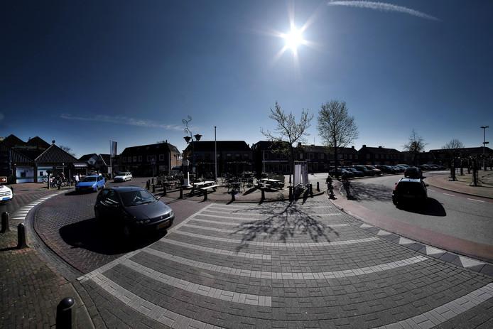 Het plein naast de Mariakerk in Didam. Foto Jan van den Brink.