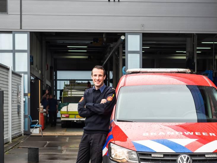 Eugene brengt veel tijd door bij de brandweer: 'Ik heb van mijn hobby mijn beroep kunnen maken'