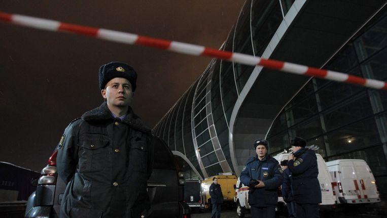 Archiefbeeld: Russische politieagenten Beeld epa