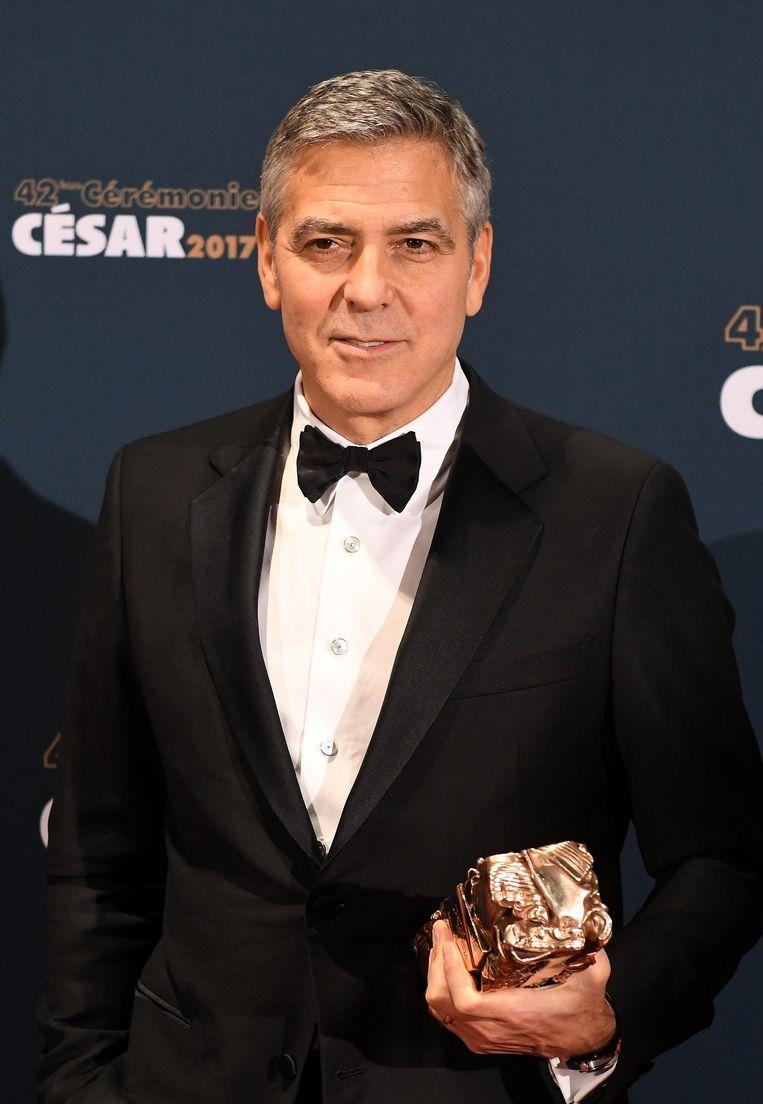 George Clooney Beeld epa