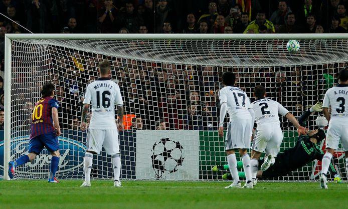 Messi tegen Chelsea.