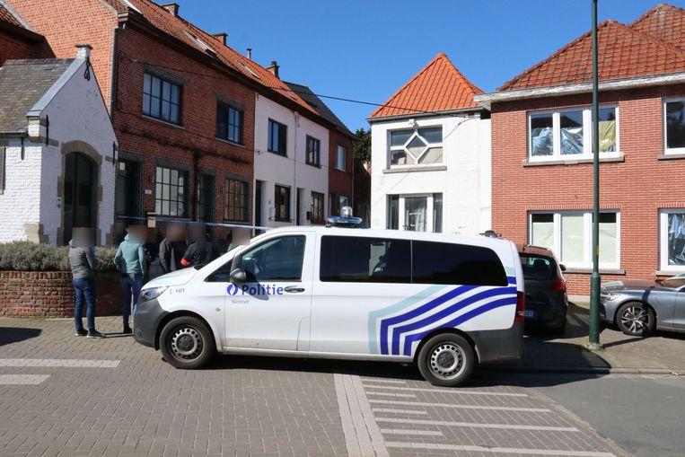 De politie en het parket kwamen ter plaatse.