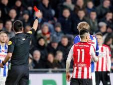 Lozano hoort strafeis van vier duels, PSV hekelt rol Higler