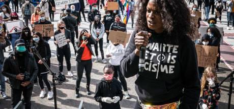 1700 demonstranten tegen racisme bij vol Stadhuisplein in Eindhoven: 'Ik werd gezien als een gevaar'