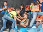 Chaos en paniek bij veiligheidsoefening PEC Zwolle-stadion