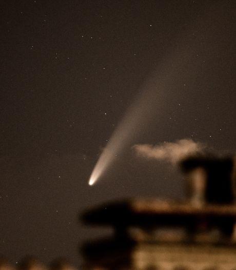 Zeldzaam: komeet met blote oog te zien
