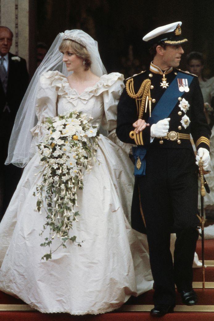 Kroonprins Charles en Diana Spencer