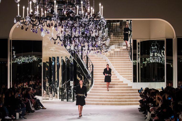 Chanel Métiers d'Art 2019-2020 show in Parijs.