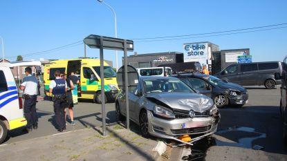 Twee gewonden bij ongeval aan op- en afrittencomplex E40