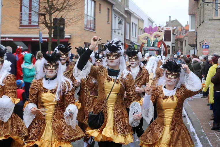 Een vleugje Venetiaans carnaval in Heist.
