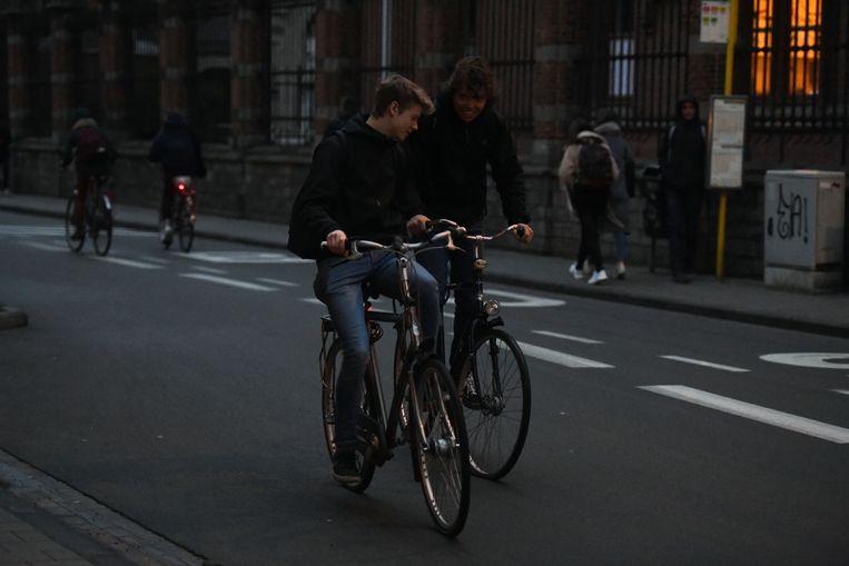 Meer dan één op drie fietsers in Leuven rijdt zonder licht.