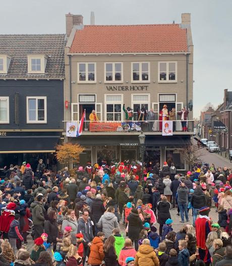 Sinterklaas ook in gemeente Moerdijk aangekomen