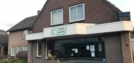 Na 89 jaar sluiten de deuren van slagerij Jan van Kessel in Eerde