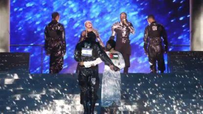 Israëlische cultuurminister niet opgezet met Palestijnse vlag tijdens optreden Madonna