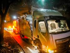 Ravage door botsing tegen boom in Nuenen