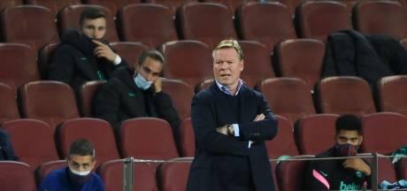 Koeman: 'Als er twijfels waren over onze doelpuntenmakers, hebben we laten zien dat het goed zit'