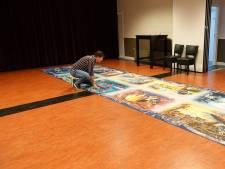 Oeke (50) uit Ambt Delden maakt reuzenpuzzel van 40.000 stukjes: 'Twee jaar over gedaan'