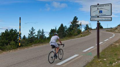 Belgische wielertoerist (60) sterft tijdens beklimming Mont Ventoux