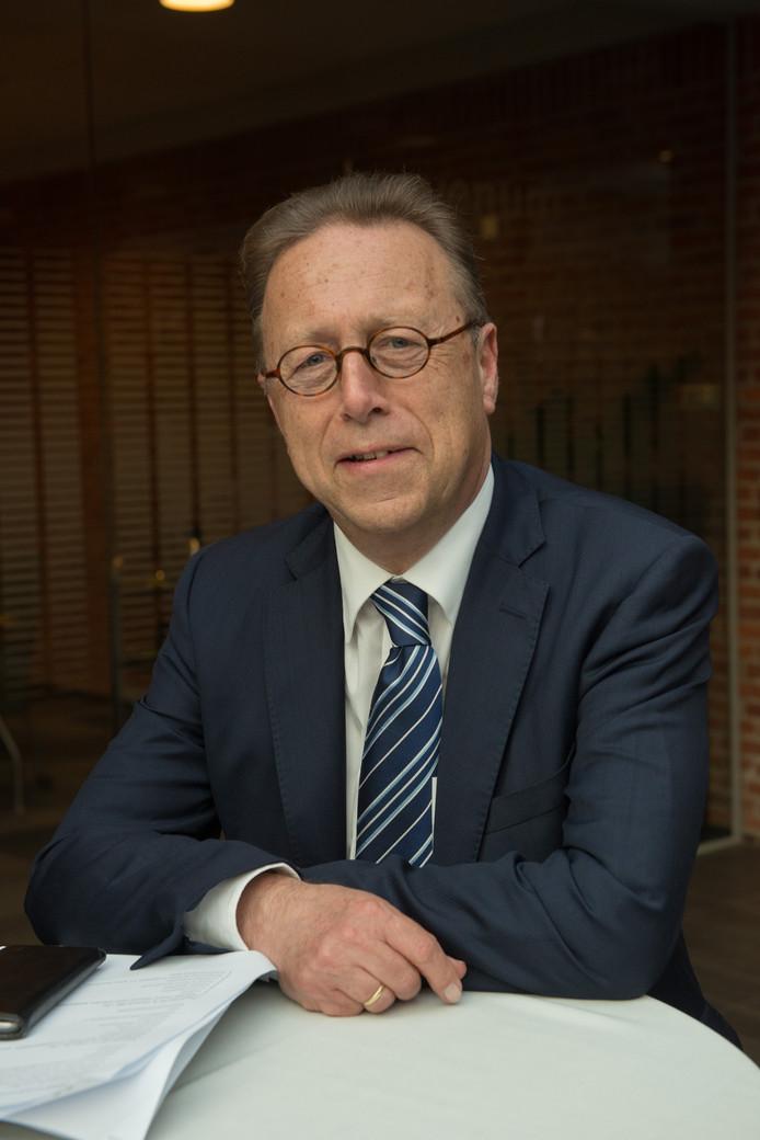 Wethouder Wouter Vogelsang ziet een uitdaging.