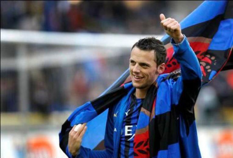 Zijn laatste doelpunt scoorde hij in de derby tegen Cercle.