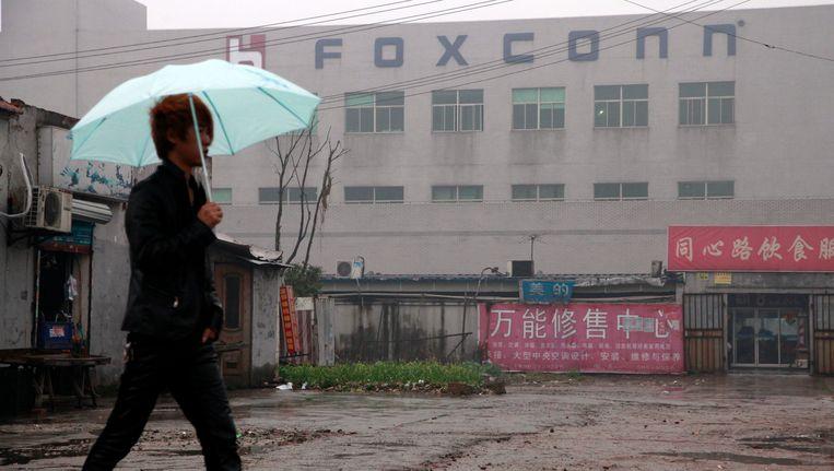 Een Foxconn fabriek in China. Beeld EPA