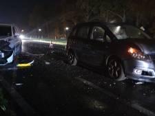 4 auto's betrokken bij kettingbotsing bij Beckum
