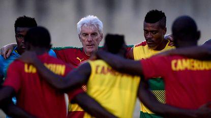 Kameroense spelers vol lof over aanpak van Hugo Broos