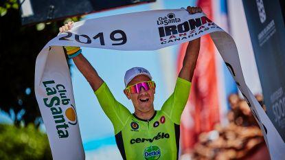 Van Lierde viert 40ste verjaardag met Ironman-winst op Lanzarote