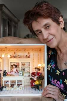 Opmerkelijke passie: Margreet (67) maakt haar eigen poppenhuizen