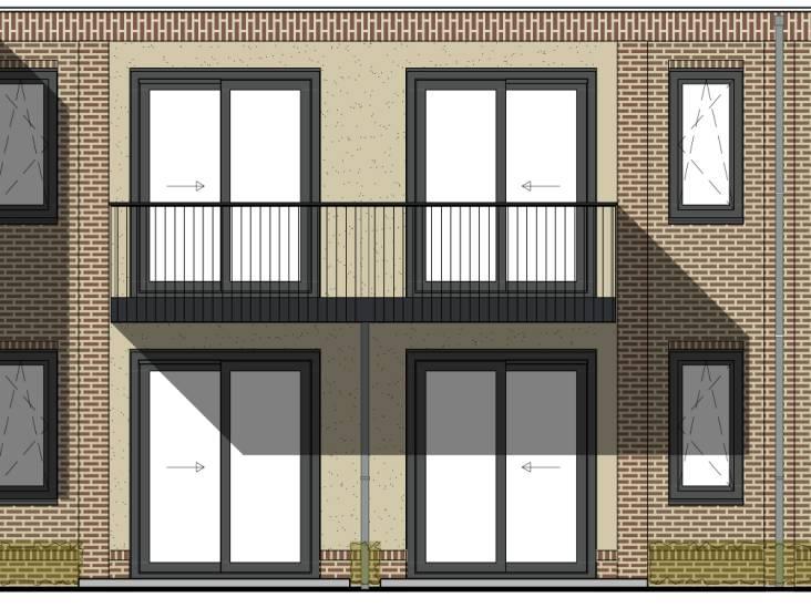 42 energiezuinige appartementen aan Van Beethovenstraat