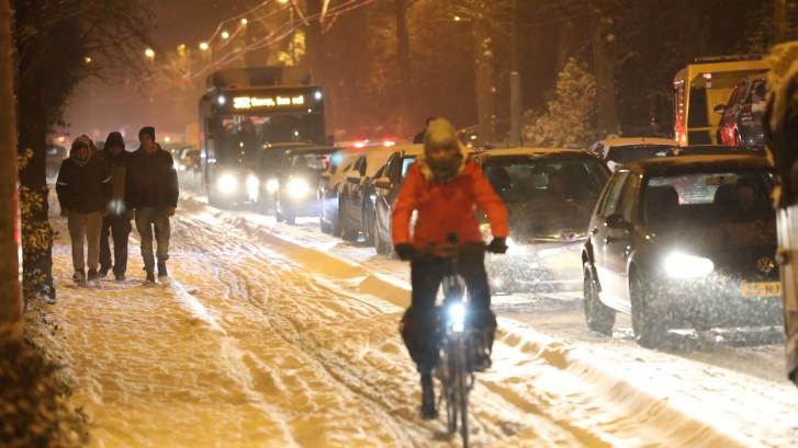 Dit is wat sneeuw doet met Arnhem