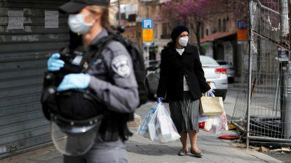 Israël verplicht mondmaskers en schort luchtverkeer op tot zondag