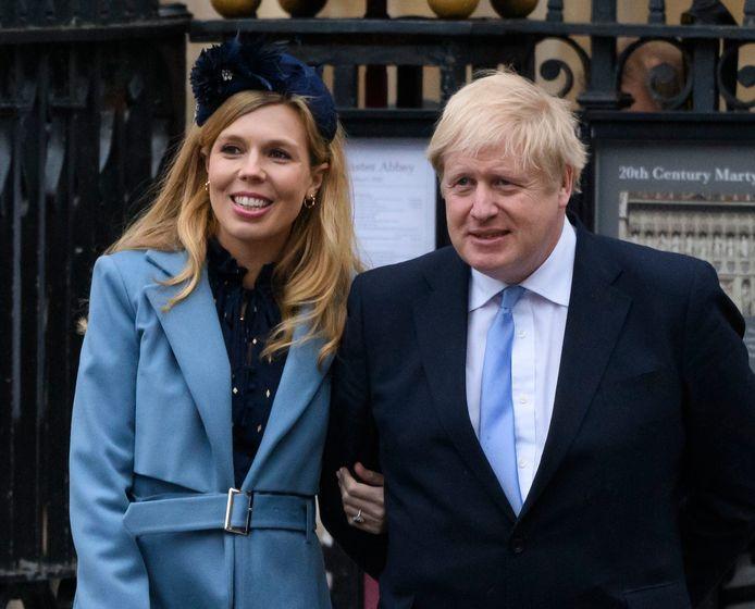 Archives: Carrie Symonds et Boris Johnson