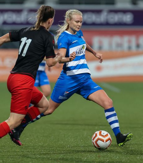 Teleurstellende nederlaag PEC Zwolle Vrouwen bij laagvlieger Excelsior