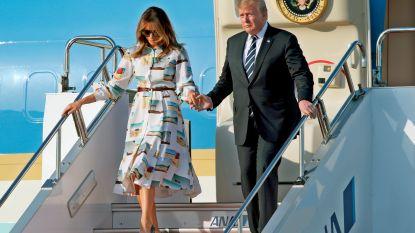 Donald Trump in Japan aangekomen voor staatsbezoek